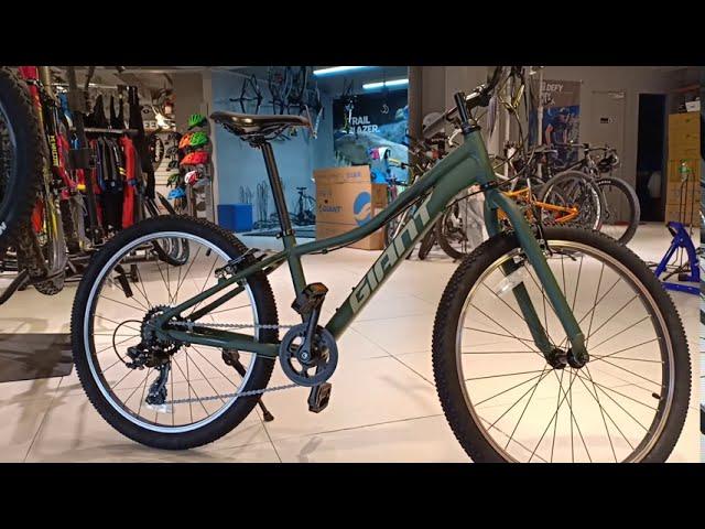 Видео Велосипед Giant XtC Jr 24 Lite Trekking Green