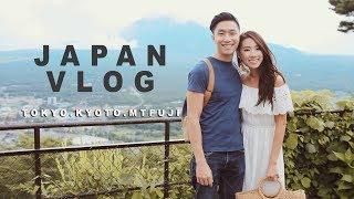 JAPAN VLOG TOKYO + KYOTO  - Mt FUJI / PEACHES PICKING   MONGABONG