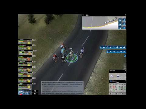 【HD】 Pro Cycling Manager (2010) - Mountain Tutorial