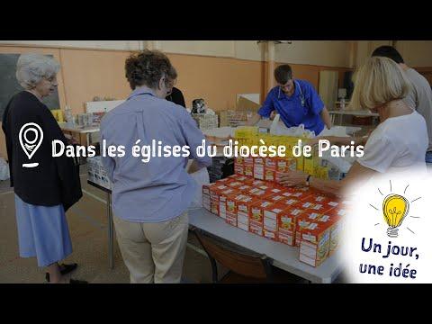 Un jour, une idée : La distribution alimentaire dans les églises de Paris