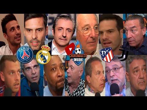 DIRECTO   PSG - REAL MADRID y ATLETI - JUVENTUS con EL CHIRINGUITO   CHAMPIONS LEAGUE