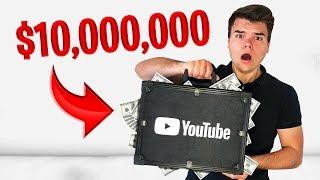 YouTube Sent Me A $10,000,000 Mystery Box!