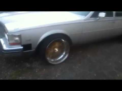 84 Cadillac Seville with rims