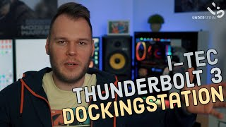Beste Docking Station für MAC und Windows | i-tec Thunderbolt 3 Docking Station