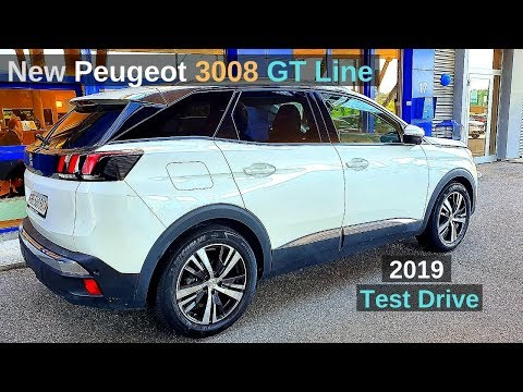 New Peugeot 3008 GT Line 2019 Drive Test Review
