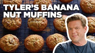 5-Star Banana Nut Muffins With Tyler Florence | Food Network