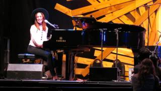 Chantal Kreviazuk - Feels Like Home (Live @ The Drum Is Calling Festival in Vancouver, BC)