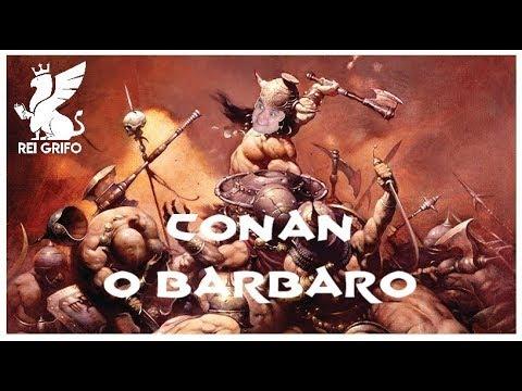 Resenha do Rei Grifo: Conan o Bárbaro Livro I