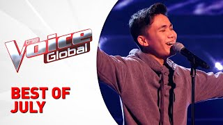 BEST OF JULY on The Voice Kids