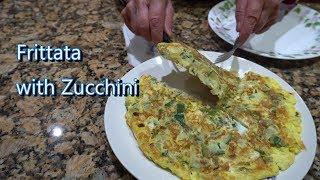 Italian Grandma Makes Frittata with Zucchini