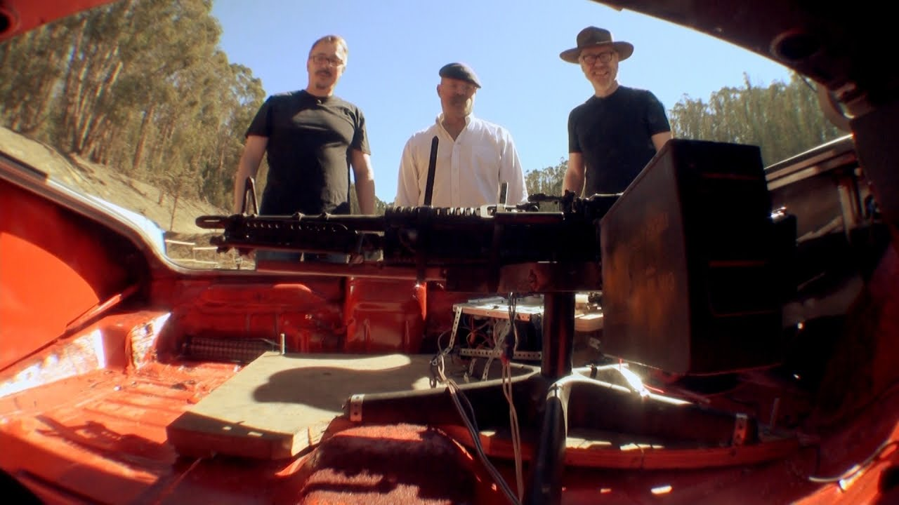 Mythbusters Puts Breaking Bad's Car Machine Gun To The Test