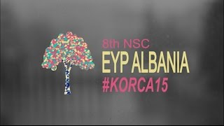 preview picture of video 'Teambuilding - 8th NSC EYP Korca 2015'