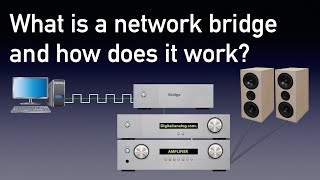 What is a network bridge and how does it work?