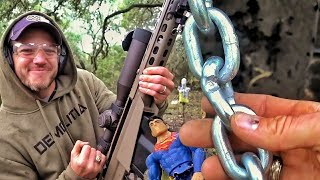Можно ли порвать цепь пулей? | Разрушительное ранчо | Перевод Zёбры