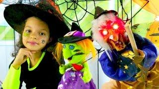 Katy cadıları gece partisine hazırlıyor