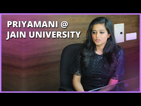 A Dialogue with Priyamani - Lasya 2017 - Jain (Deemed-to-be University)