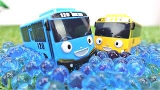 Детское видео! Видео с игрушками из мультфильмов. Автобус Тайо и Лэни едут гулять! 🚌