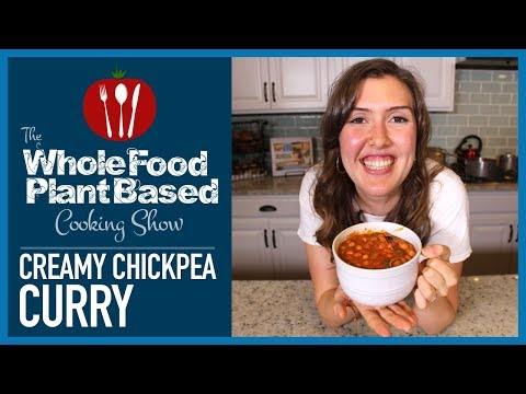 Easy Plant Based Vegan Creamy Chickpea Curry