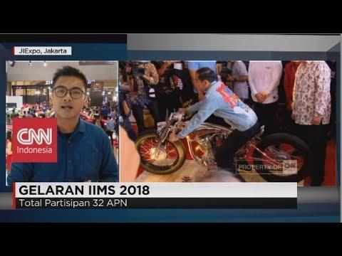 Presiden Jokowi Hadiri & Resmikan Pameran Otomotif IIMS 2018