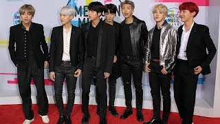 """BTS STEALS Show & Makes History With """"DNA"""" AMAs 2017 Performance"""