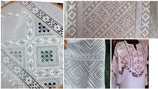 Hand Embroidery || Hardanger Embroidery || Tarkashi Embroidery Designs