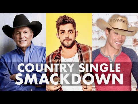 SINGLE SMACKDOWN: George Strait Vs. Thomas Rhett Vs. Dustin Lynch - Grady Smith