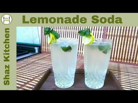 Video Lemonade Soda (Iftaar)Ramadan Recipe(In Urdu/Hindi)How To Make Refreshing Summer Drink Nimbu Soda