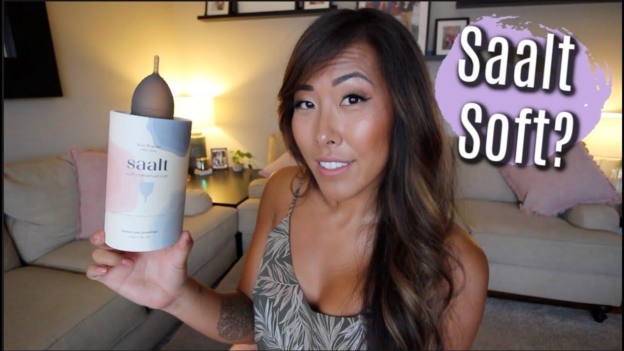 I Tried The Saalt Soft Cup *WARNING REAL BLOOD* | ITSJUSTKELLI