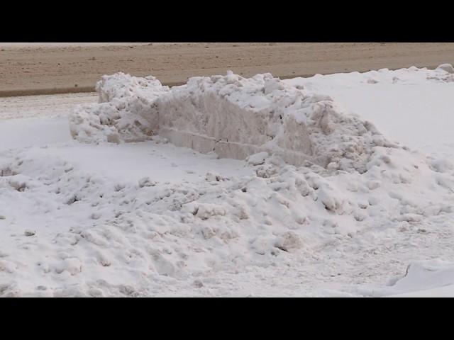 Дождались снега