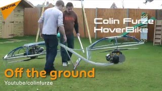 Check Out This Homemade Hoverbike That Actually Flies!