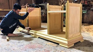 Amazing Design Ideas Furniture Projects From Hardwood || Woodworking Skills & Techniques Fastest
