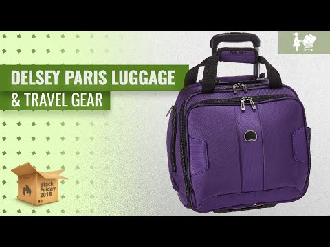 Save Big On Delsey Paris Luggage & Travel Gear | Early Black Friday Deals