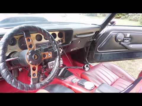 Video of '77 Firebird Trans Am - J3RM