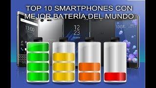 Los 10 Smartphones con más batería del mundo 2017