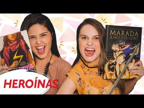 MÊS DAS MULHERES l Heroínas: Ms. Marvel & Marada A Mulher - Lobo l Indicação de HQs