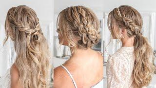3 Boho Wedding Hairstyles | Missy Sue