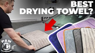 THE BEST DRYING TOWEL ?!?