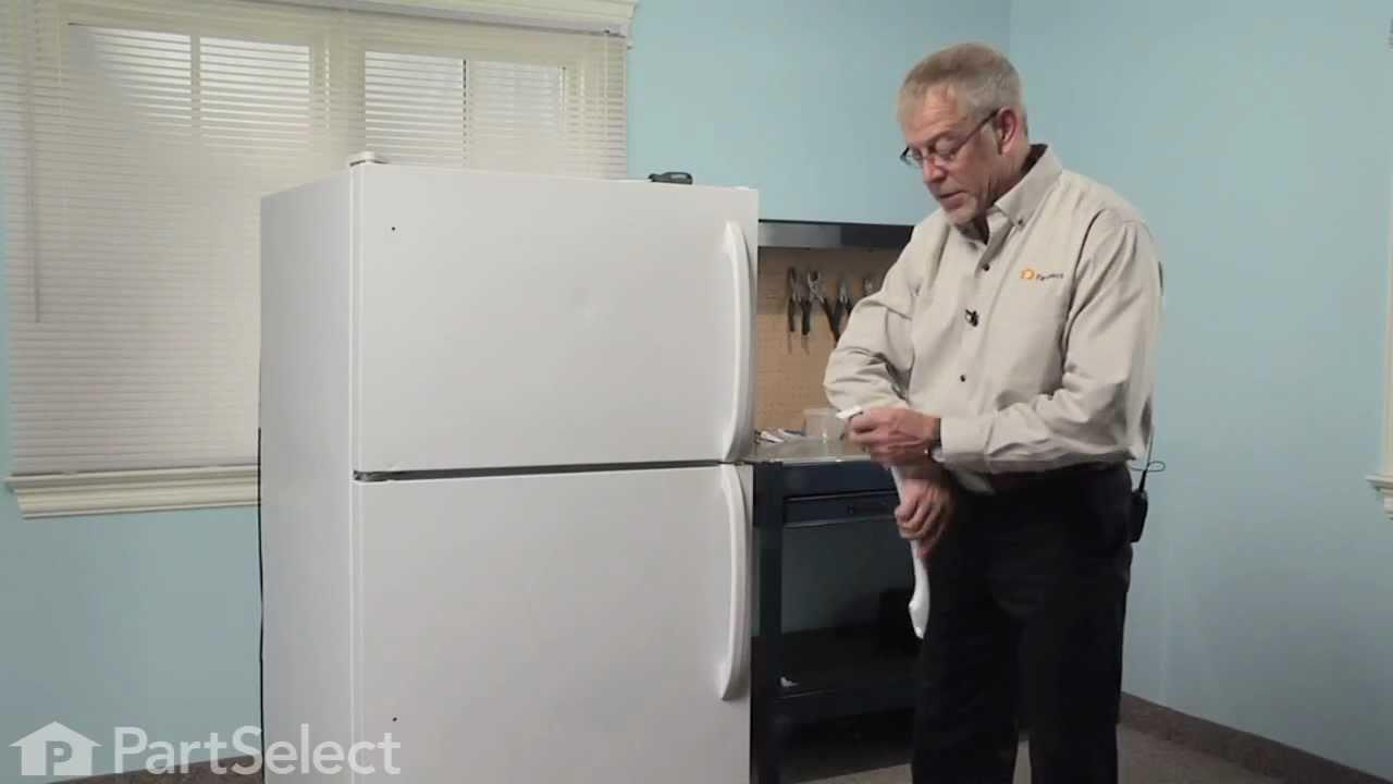 Replacing your Frigidaire Refrigerator Door Handle