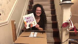 SMALL WORLD: Author Copies Unboxing!