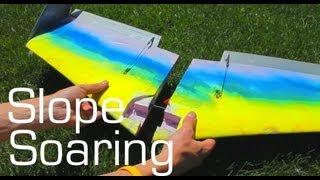 Backpack Slope Soaring Wing - RCTESTFLIGHT