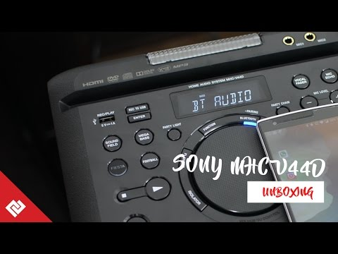 Sony Home DJ Speakers with cool inbuilt DJ Party Lights Review