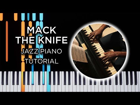 Download Mack The Knife - Jazz Piano Solo Tutorial HD Mp4 3GP Video and MP3