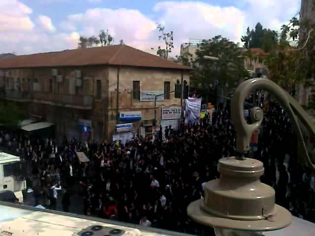"""ח""""כ חיימוביץ':  היד הקשה בהפגנות החרדים לא מצדיקה אלימות בהפגנות בבלפור"""