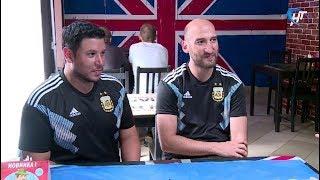 Футбольные болельщики из Аргентины, которые хотели попасть на матч в Нижний Новгород, по ошибке приехали в Великий