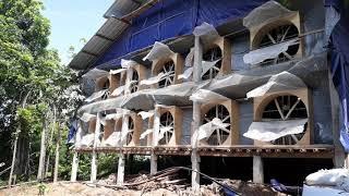 Blower Rakitan   Kandang Ayam Broiler Upgrade Semi Close House
