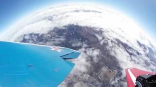 MIG-29 tourist flight - 360° video / Полет туриста на МиГ-29 - видео 360°