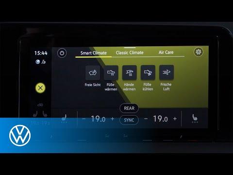 Smart Climate Menü von Volkswagen