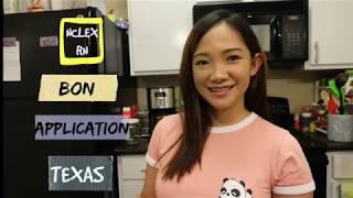 Step1| NCLEX RN BON APPLICATION (TEXAS)