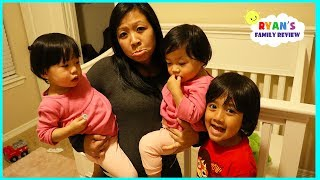 Kids Bedtime Routine without Daddy!!!