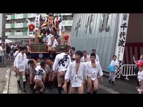 千代流 子供山笠 2013/07/06 博多祇園山笠